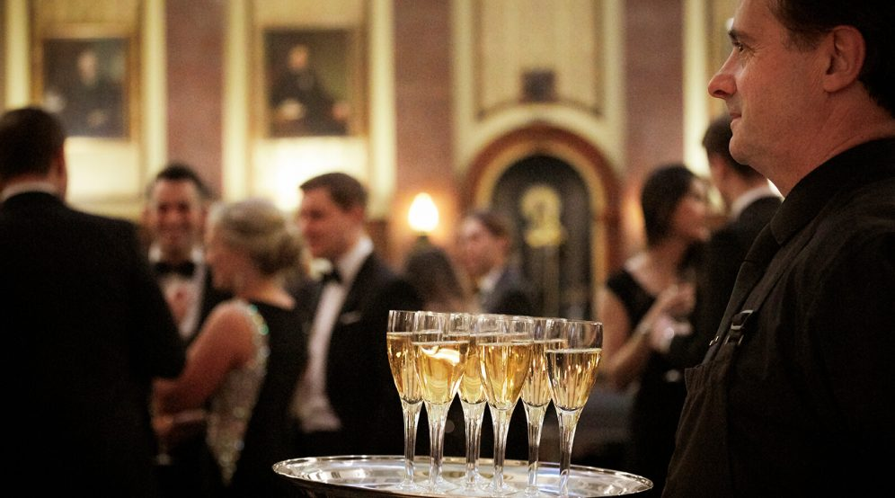 Drinks reception in the Reading Room