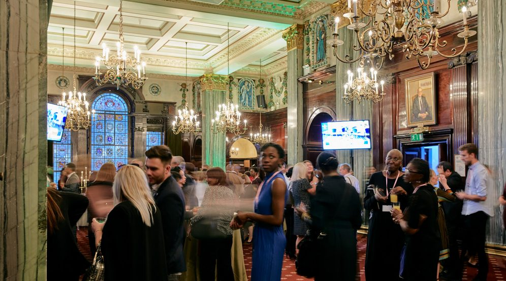 Networking event hosted in our regal Common Room. Suitable for 300 guests standing.