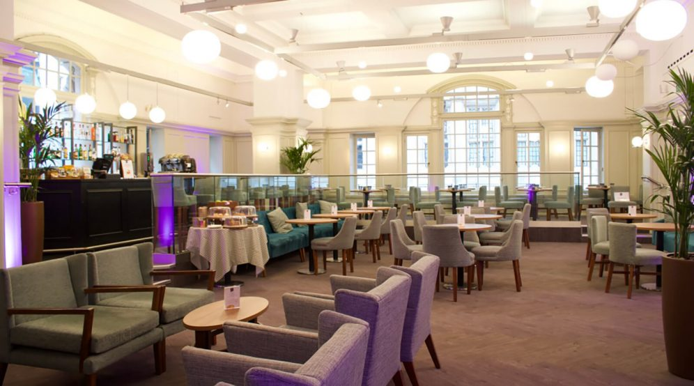 Our Vulliamy Lounge is available for private hire in the evenings.