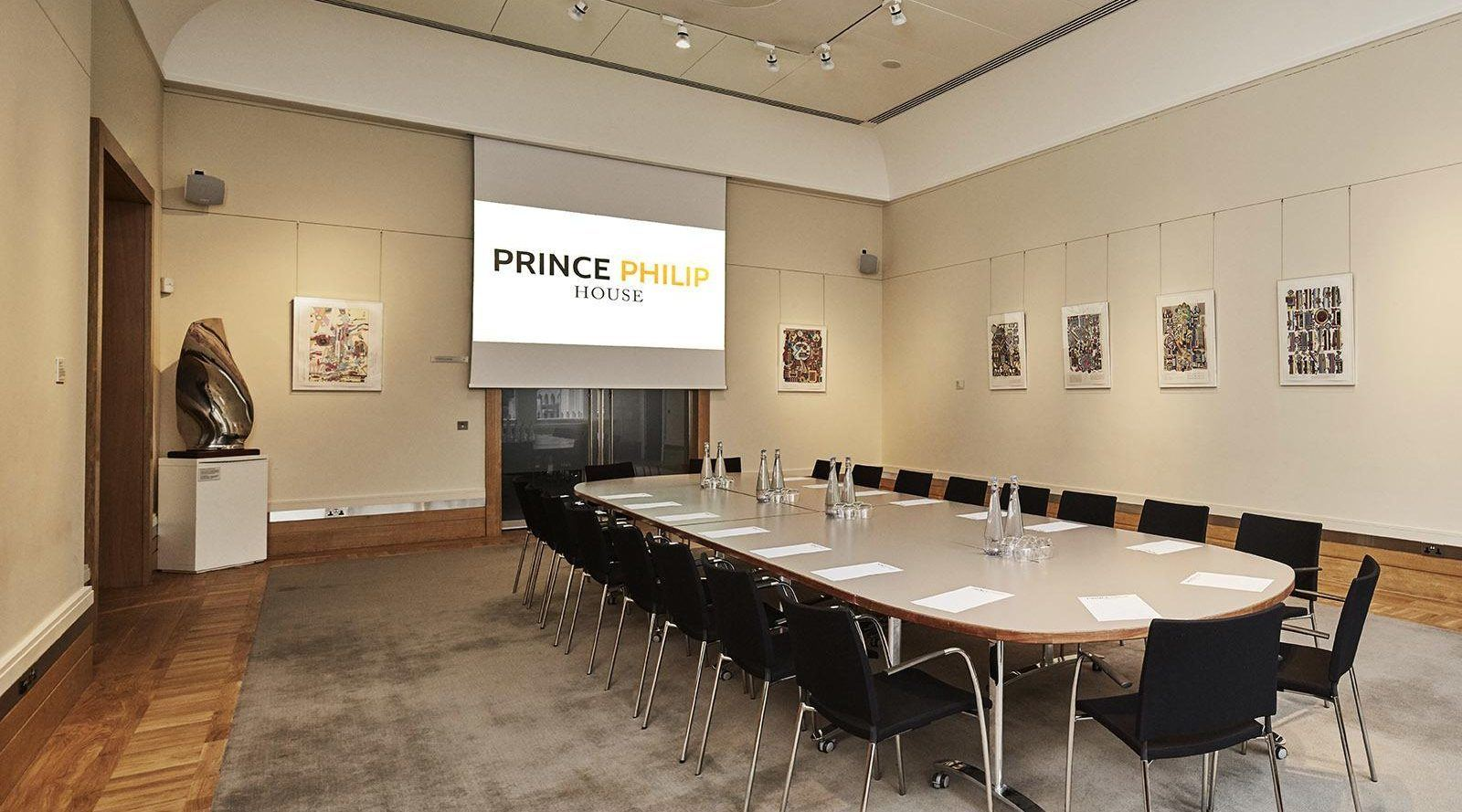 meeting rooms for hire at Prince Phillip House London