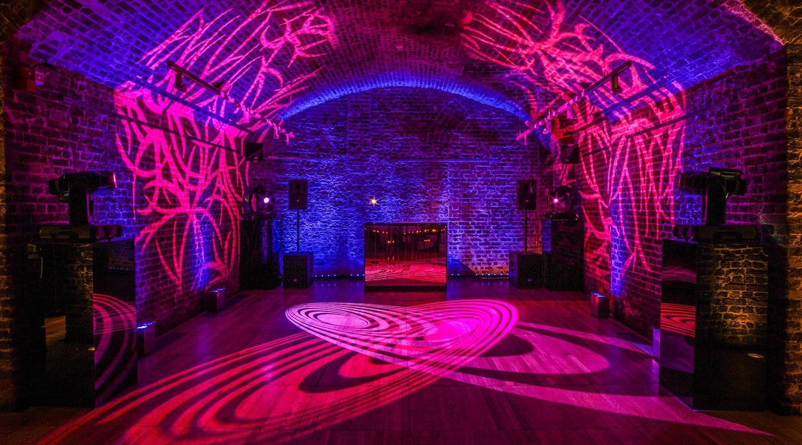 underground quirky christmas party idea at RSA House in London